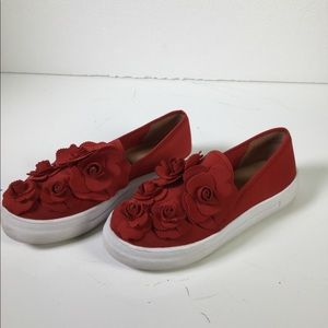 Caslon Red Rose Sneakers